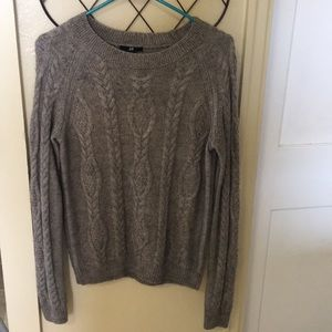 H&M Cable Knit Sweater size M
